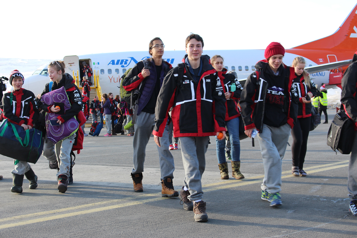 AWG-participants-arriving-in-Kangerlussuaq